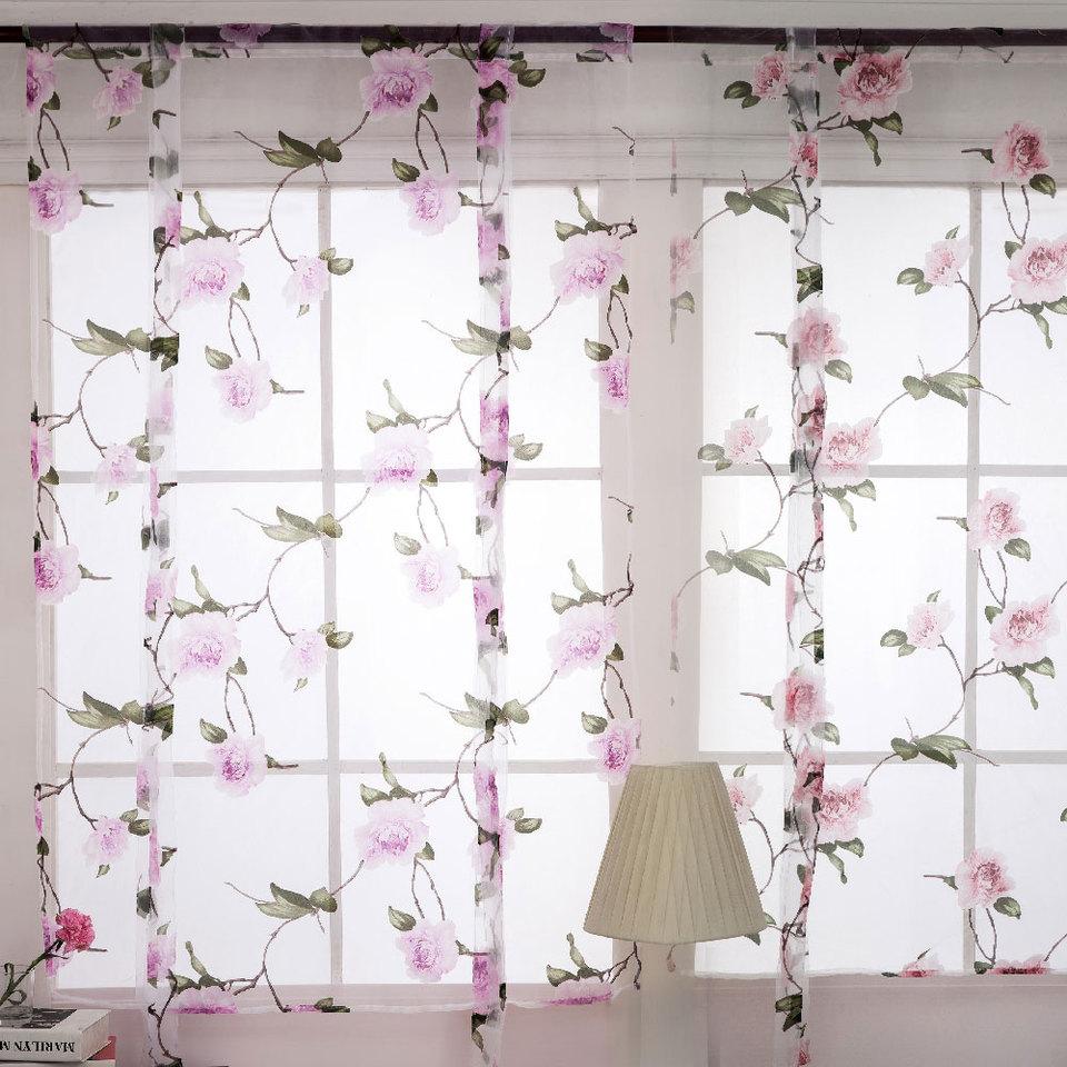 Tende Sala E Cucina us $6.82 20% di sconto|tende moderne per soggiorno camera da letto cucina  decorazioni bella floreale serie finestra tenda tenda casa e  giardino|tende|
