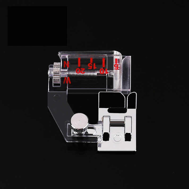 1 pcs Adjustable Bias Tape Binding Foot Snap On Presser Foot For Sewing Machine Accessories