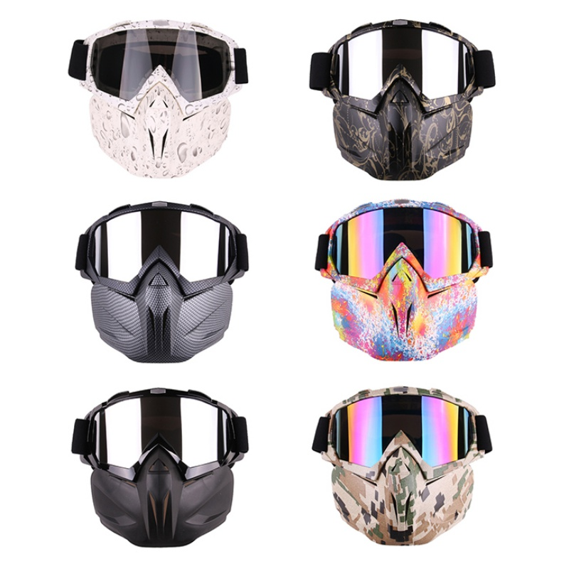 *Winter Goggles Ski Cycling Snowboard Skate Glasses Motorcycle Cover Over Driving Riding Outdoor Sports Sunglasses Anti Fog UV H