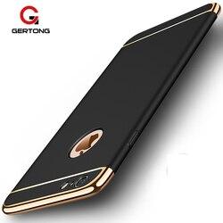 3 em 1 luxo capa dura para iphone 6 s 6 s 7 8 plus x 5 5S se telefone de volta capa para iphone x 8 7 6 s plus 5S se xr xs max caso