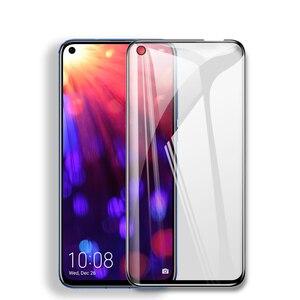 Image 2 - Verre de protection 9D pour Huawei Honor 8X 9i 10i 20i V20 V10 V9 Play 8C 8A Note 10 Magic 2 Film de protection décran en verre trempé