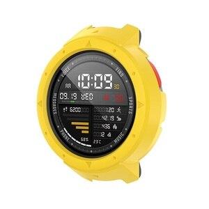 Image 3 - Novo 10 cores capa protetora caso protetor quadro escudo acessórios durável fino para amazfit verge relógio inteligente