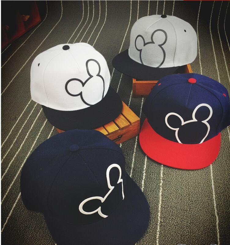 Prix pour 2016 Nouveau Snap Back Snapback Casquettes Chapeau Cool Réglable Mickey Gorras Hip Hop Casquette de baseball Chapeaux pour Hommes Femmes