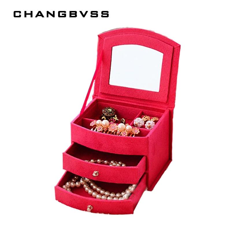 Hot Sale Makeup Organizer Small Things Storage Box with Drawer,Rangement Maquillage,Caixa Organizadora,Organizer for Cosmetics