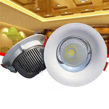 High quality 10W 15W 20W 30W COB Downlights Dimmable Hotel Progect LED Recessed Ceiling Led Down Light Spot