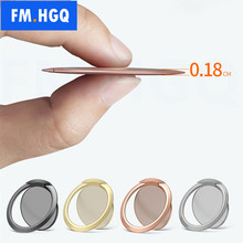Thin Universal Magnetic Phone Ring 90 Degree Finger Mobile Phone Metal Stand Holder For iPhone Samsung Xiaomi Huawei Oneplus(China)