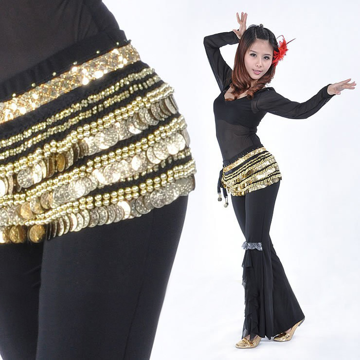 The New 338 Credits Gold Waist Chain Small Beads Super Heavy Original Belly Dance Waist Chain Belly Dance Waist Chain Belt