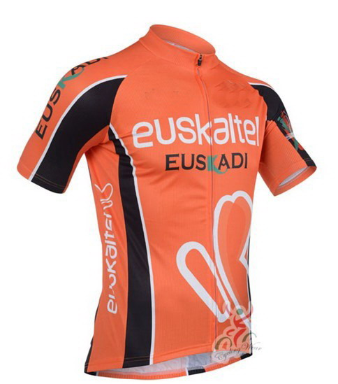 2012 2013 Euskaltel Euskadi Team Men s Only Cycling Jersey Short Sleeve Bicycle  Clothing Quick Dry Riding Bike Ropa Ciclismo-in Cycling Jerseys from Sports  ... 728d243be