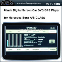 New Car Radio Dvd Navigation For Mercedes Benz A B CLASS With GPS IPOD SD USB