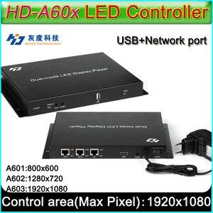 Image 1 - HD A60X سلسلة كامل اللون Led عرض المراقب المالي ، HD A601/HD A602/HD A603 ، Syn Asyn المزدوج وضع HD صندوق التشغيل