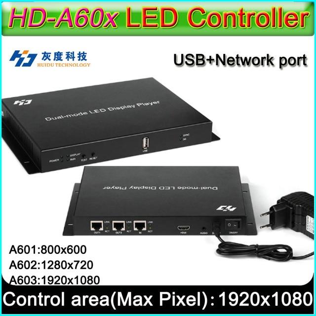 HD A60X سلسلة كامل اللون Led عرض المراقب المالي ، HD A601/HD A602/HD A603 ، Syn Asyn المزدوج وضع HD صندوق التشغيل