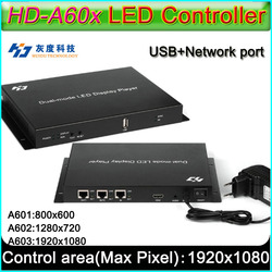 HD-A60X Series Full color Led display controller,HD-A601/HD-A602/HD-A603,Syn-Asyn dual-mode HD player box