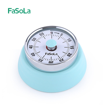 FaSoLa Machinery Kitchen Timer Cooking Timer with Magnetism Cooking Countdown 60 Minutes Student Kitchen Accessories Red Blue