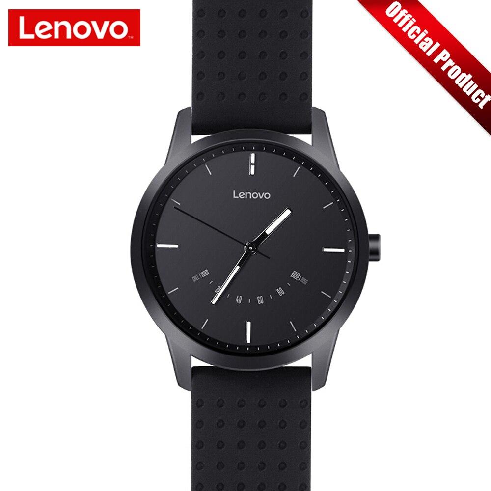 Lenovo Uhr 9 Bluetooth Smart Uhr Mode Sport Smartwatch Sapphire Glas 50 mt Wasserdicht Heart Rate Monitor Offizielle Uhr