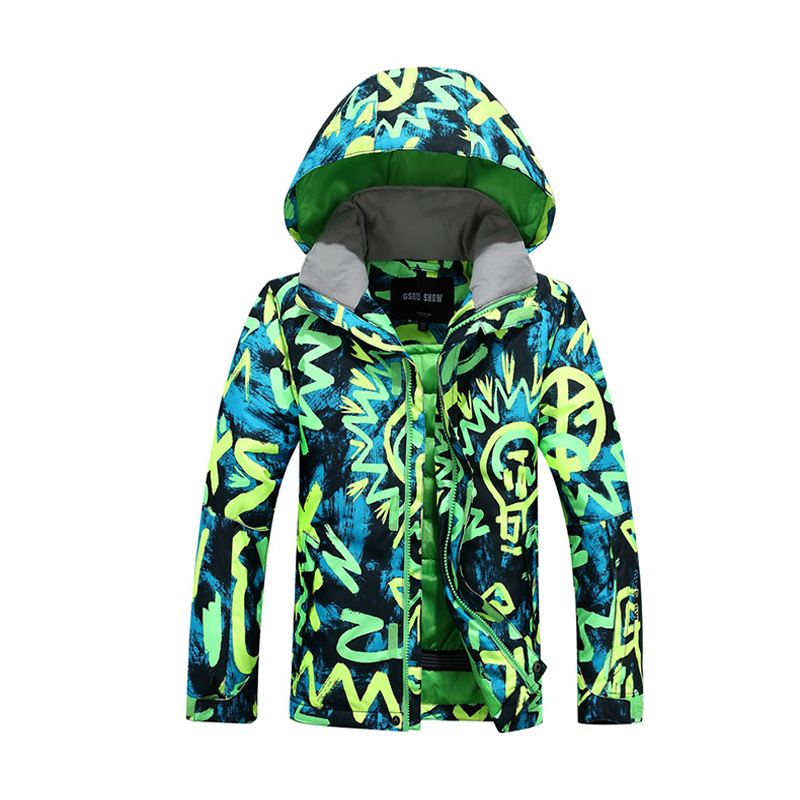 Cheap Winter Ski Suits Kids Children Outerwear 2 pc Skiing Jackets Pants Teenager Boys Girls Snow Suits Ski Garcon