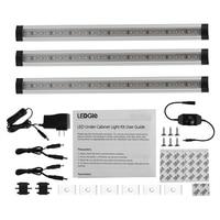 LEDGLE 4W Dimmable Closet Lights LED Cabinet Lighting Kit Efficient Light Bar For Cabinet 300lm Warm