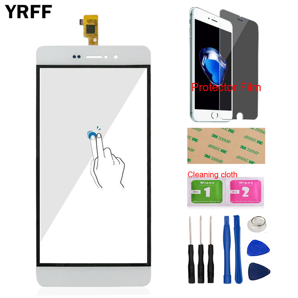 5.0'' Touch Screen Mobile Phone Touch Panel For Bluboo Picasso Touch Digitizer Screen Glass Panel Sensor Protector Film Adhesive