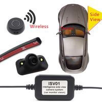 Vehicle Blind Spot Monitoring Camera Car Auto Wireless Side View Camera HD Night Vision Free Demolition Door Highquality Cameras