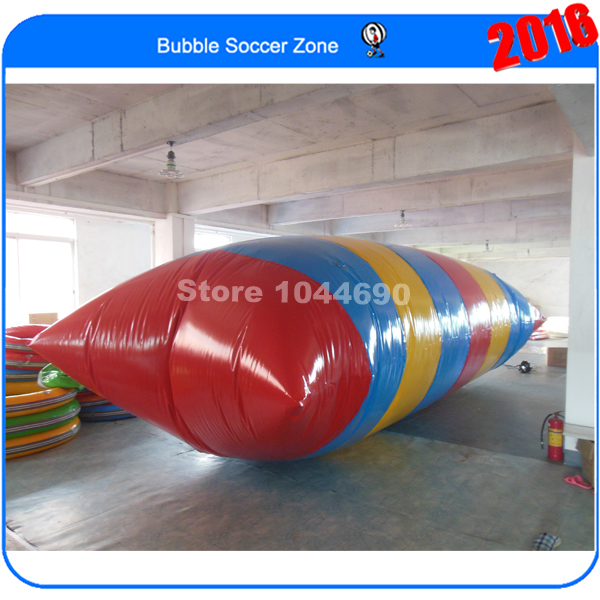 Free shipping 8m water blob jump,water blob prices,water blob europe (With free Pump) blob blob big yellow