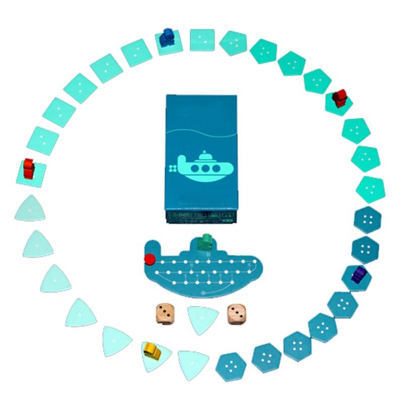 Deep Sea Adventure Board Game 2-6 Гульцы Сям'я / - Забавы