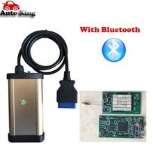 Лучший автомобильный диагностический инструмент золото tcs CDP Pro plus+ с bluetooth для автомобилей/грузовиков Авто obd OBD2 сканер