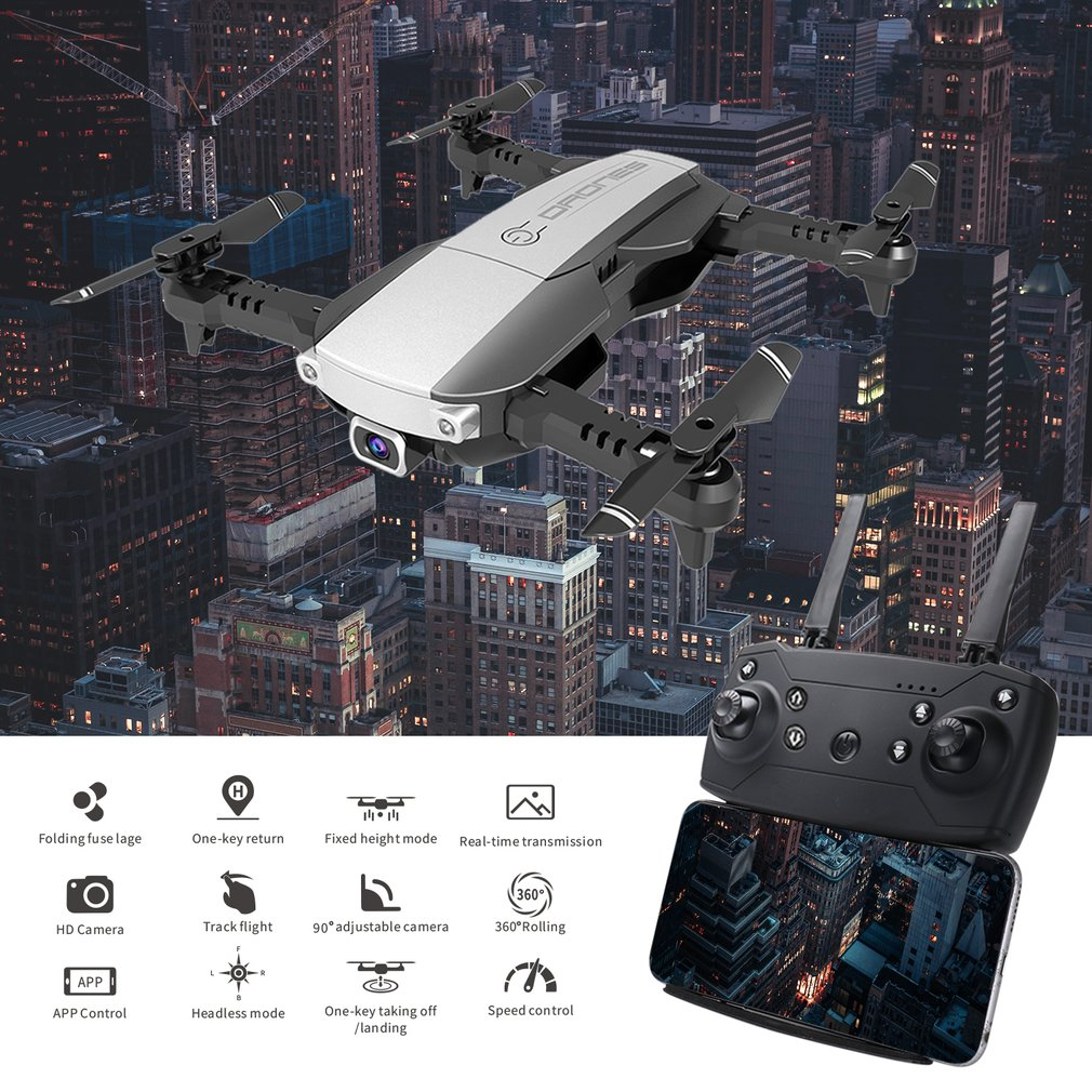 LANSENXI NVO Quadrocopter with HD 1080P 4K Camera GPS Drone 2 4G Wifi FPV RC Drone Real time Transmission Aircraft Toy in RC Helicopters from Toys Hobbies