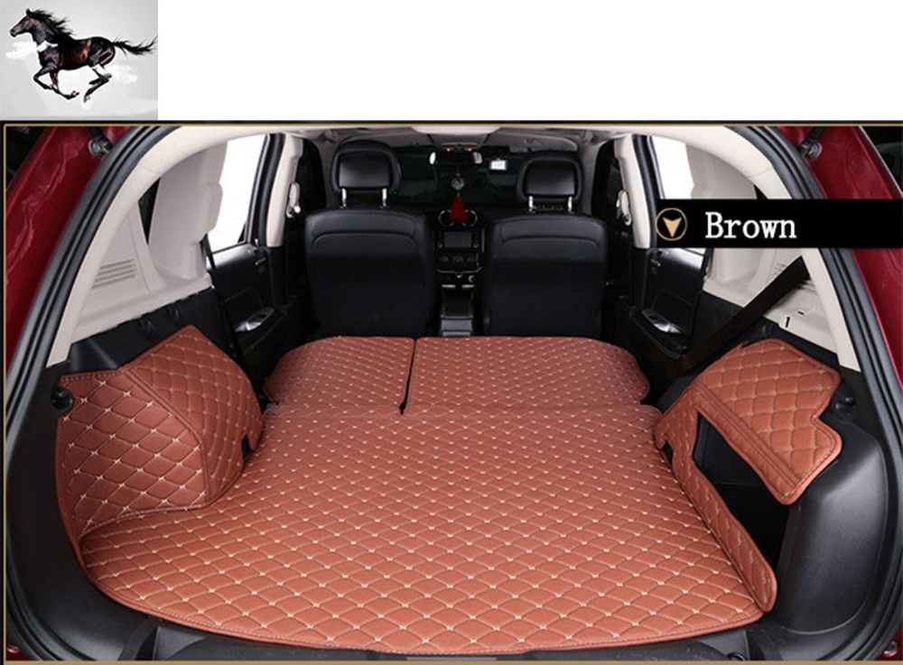 Topmats Best U0026 Newest Floor Mats For Jeep Grand Cherokee 2011 2017 Trunk  Protector Cargo Liner Set Trunk Mat In Floor Mats From Automobiles U0026  Motorcycles On ...