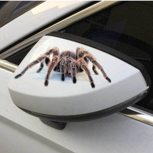 3D Автомобильная наклейка животные бампер паук геккон скорпионы для Audi A1 A2 A3 A4 A5 A6 A7 A8 B5 B6 B7 B8 C5 C6 Q2 Q3 Q5 Q7 TT S3 S4 S5