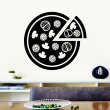 Family pizza Wall Art Decal Sticker Murals Removable Home Accessories