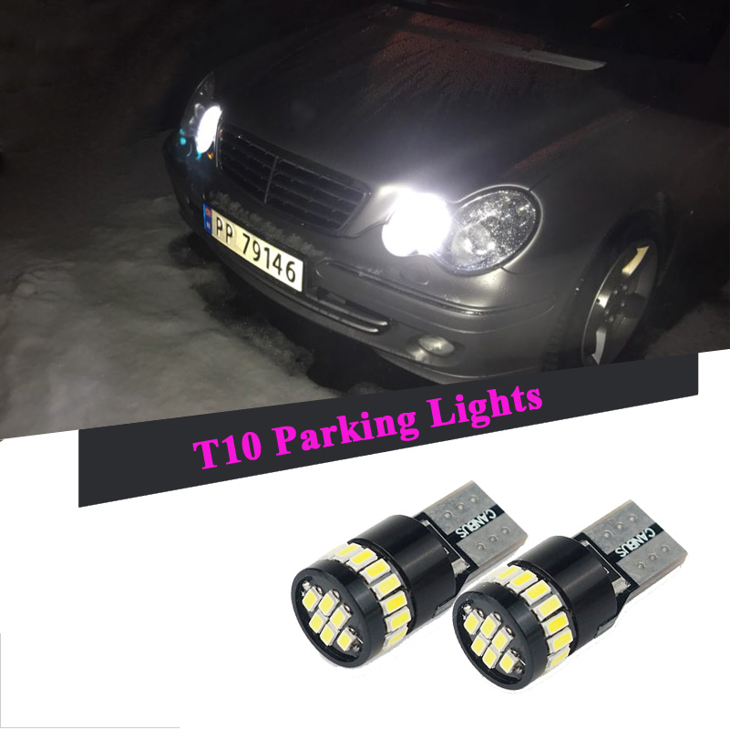 2pcs Canbus T10 W5w 168 194 Led Clearance Parking Lights Bulbs For Dodge Ram 1500 Journey Charger Challenger Carava Caliber In Signal Lamp From Automobiles