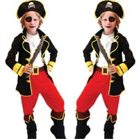 Free Shipping Kids Boys Sleeping Beauty Fancy Dress Halloween Christmas Masquerade Party Children Cosplay Clothes