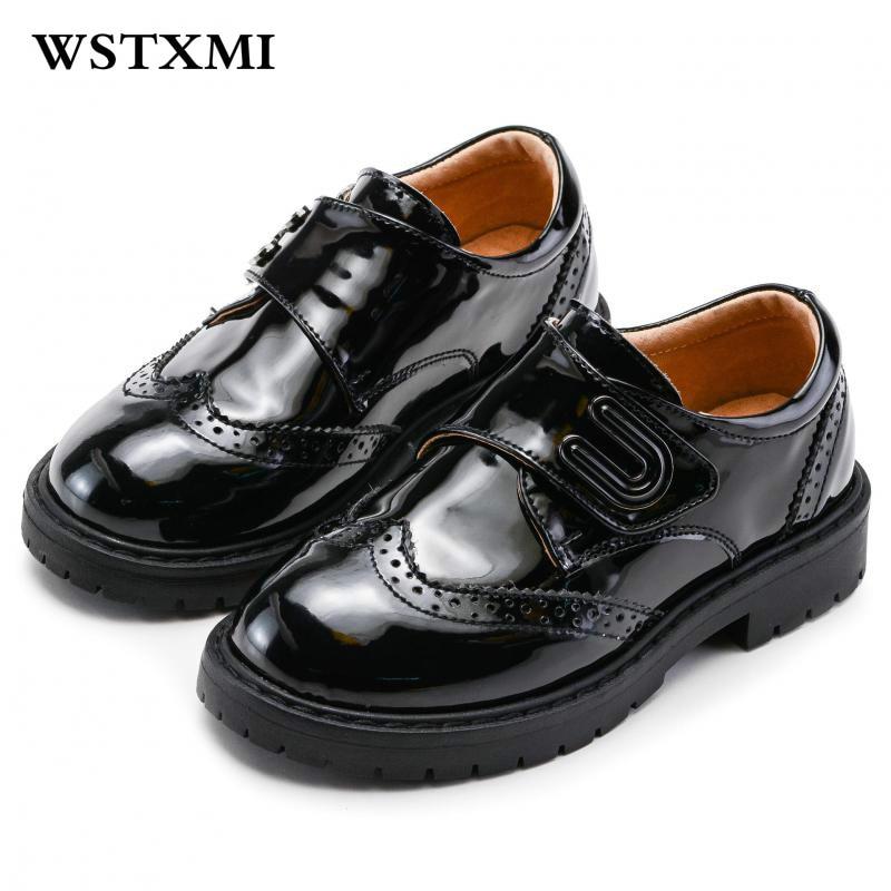 Genuine Leather Children Casual School Shoes Little Boy