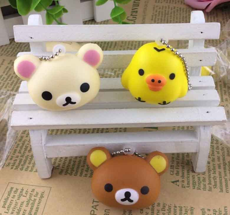 Aliexpress.com : Buy fashion kawaii rare squishy buns rilakkuma bear hot pu squishys toys mobile ...
