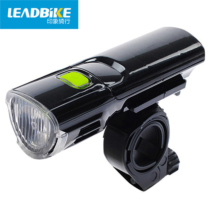 LEADBIKE Black Flashlight On a Bicycle Light Front Lamp Headlight For Road Bike Accessories Luces Led Bicicleta Eclairage Velo