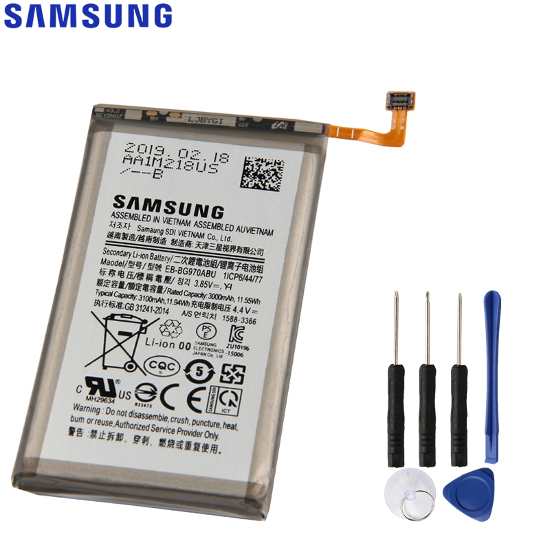 Original Samsung Battery EB-BG970ABU For SAMSUNG Galaxy S10e <font><b>SM</b></font>-<font><b>G9700</b></font> S10E S10 E Genuine Phone Battery 3100mAh image