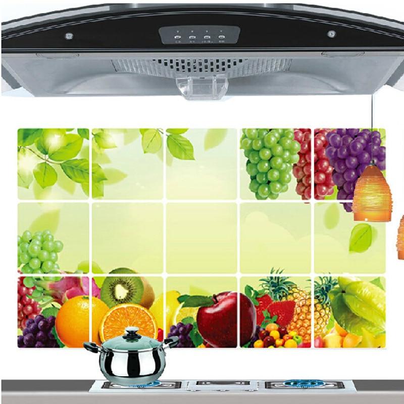 Kitchen Tiles Fruit Design - Interior Design