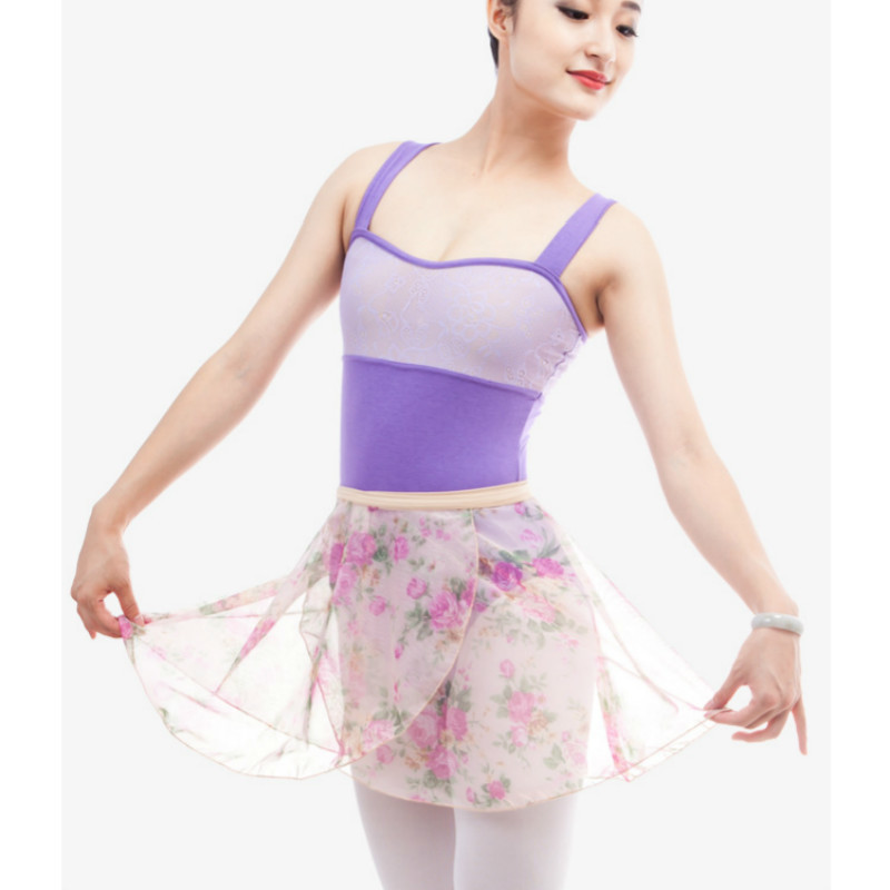 3ab6f882c1eb Ballet Leotard for Women purple Dancewear Adult Dance Practice Gymnastic  Leotard Ladies Sexy backless lace Competition Jumpsuits-in Ballet from  Novelty ...