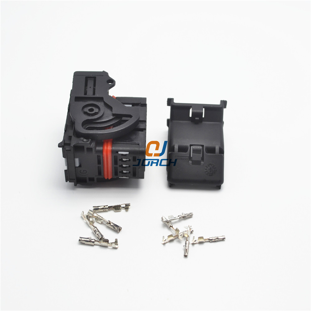 Ecu Female 48 Pin Way Molex Automotive Central Contral System Wire Wiring Harness Connector Connectors Sets Kits 643201311 With Crimp Terminal In From Lights
