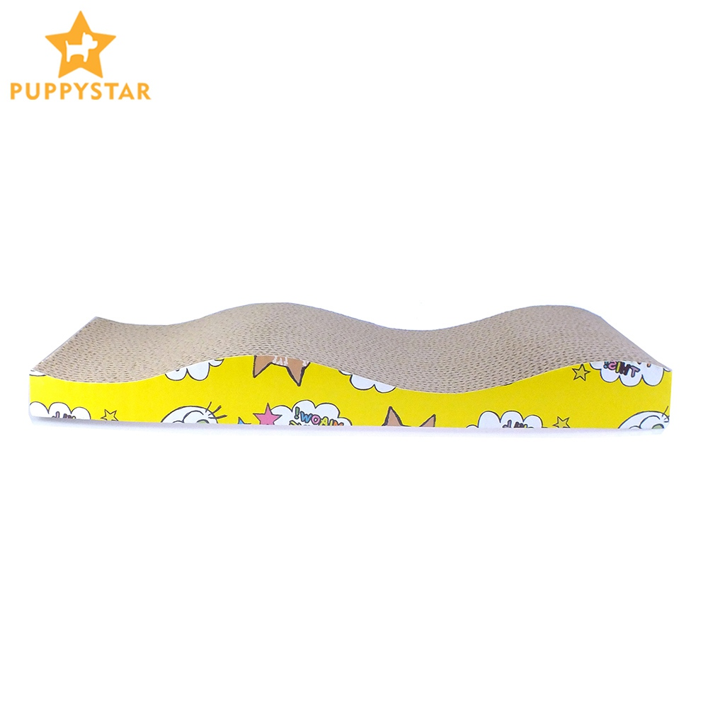 Corrugated Paper Scratcher For Cats Catnip Cat Scratcher Kitten Scratch Pad Scratching Mat Pet Toy Play Game Cat Supplies Ly0008