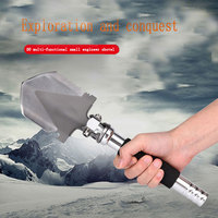 High Quality German Manganese Steel Professional Military Tactical Multifunction Shovel Outdoor Camping Spade Tool Equipment