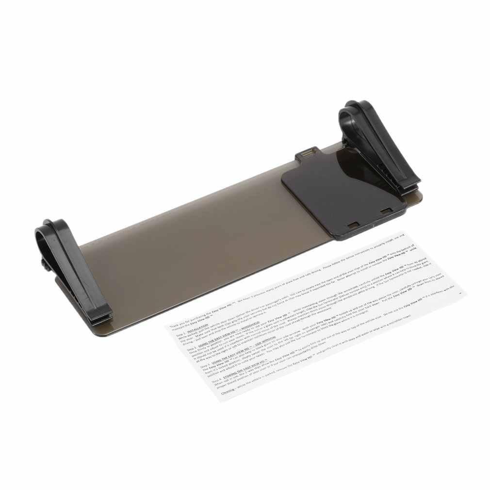 HD автомобиль солнцезащитный козырек очки для водителя День Ночь для УФ-блокатора анти-ослепительное зеркало автомобиля прозрачный вид ослепительные очки Горячие
