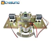 Semi automatic turnstile gate mechanism electromagnetic motor