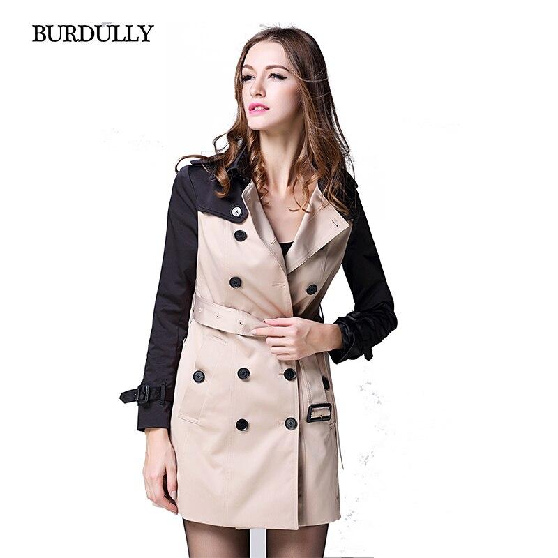 Popular Women Coat Straight Jacket with Belt-Buy Cheap Women Coat