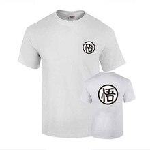 Camiseta 2018 Moda Impresso 100% Algodão camiseta manga curta casal design  de Uma palavra em bd79699cc40