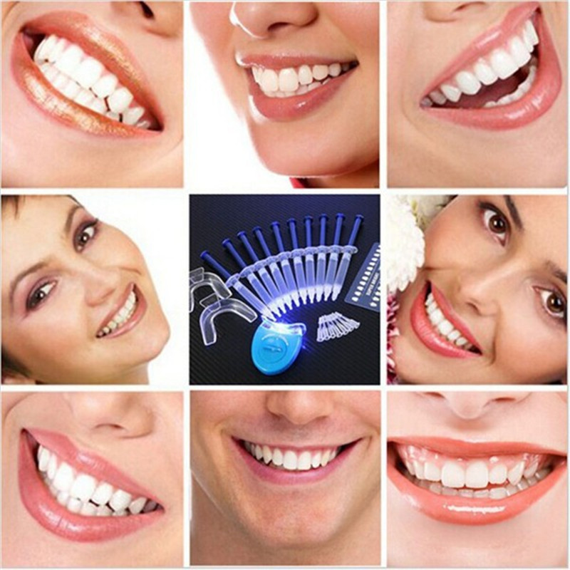 Teeth Whitening 44% Peroxide Dental Bleaching System Oral Gel Kit Tooth Whitener Dental Equipment grinigh professional home teeth whitening kit for 2 people blanchiment system 44