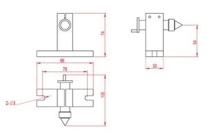 Image 5 - نك الروتاري محور عدة تشاك 65 مللي متر النشاط Tailstock 4th محور 54 مللي متر مركز كشتبان Tailstock نك طحن آلة جزء أدوات