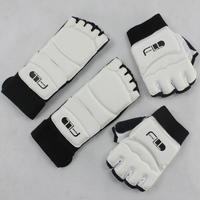 WTF Certification Half Finger Gloves Socks Armguard Spats High Grade Product Quality Excellence Taekwondo Karate Protector