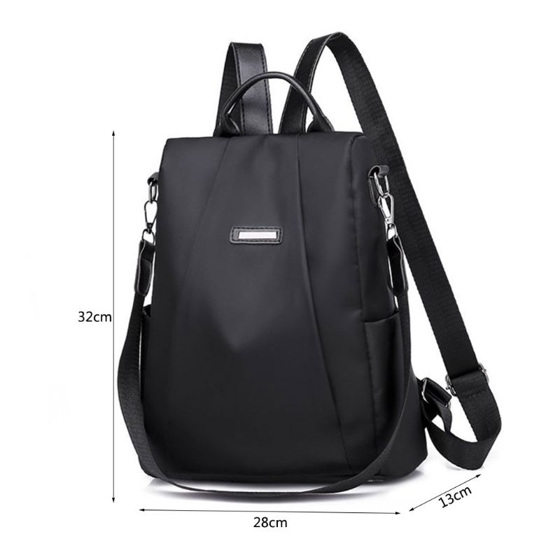 Casual Style Korean Oxford Backpack Anti Theft Women Bagpack Fashionable D 39 Water Lightweight School Bag Teenage Girls in Backpacks from Luggage amp Bags