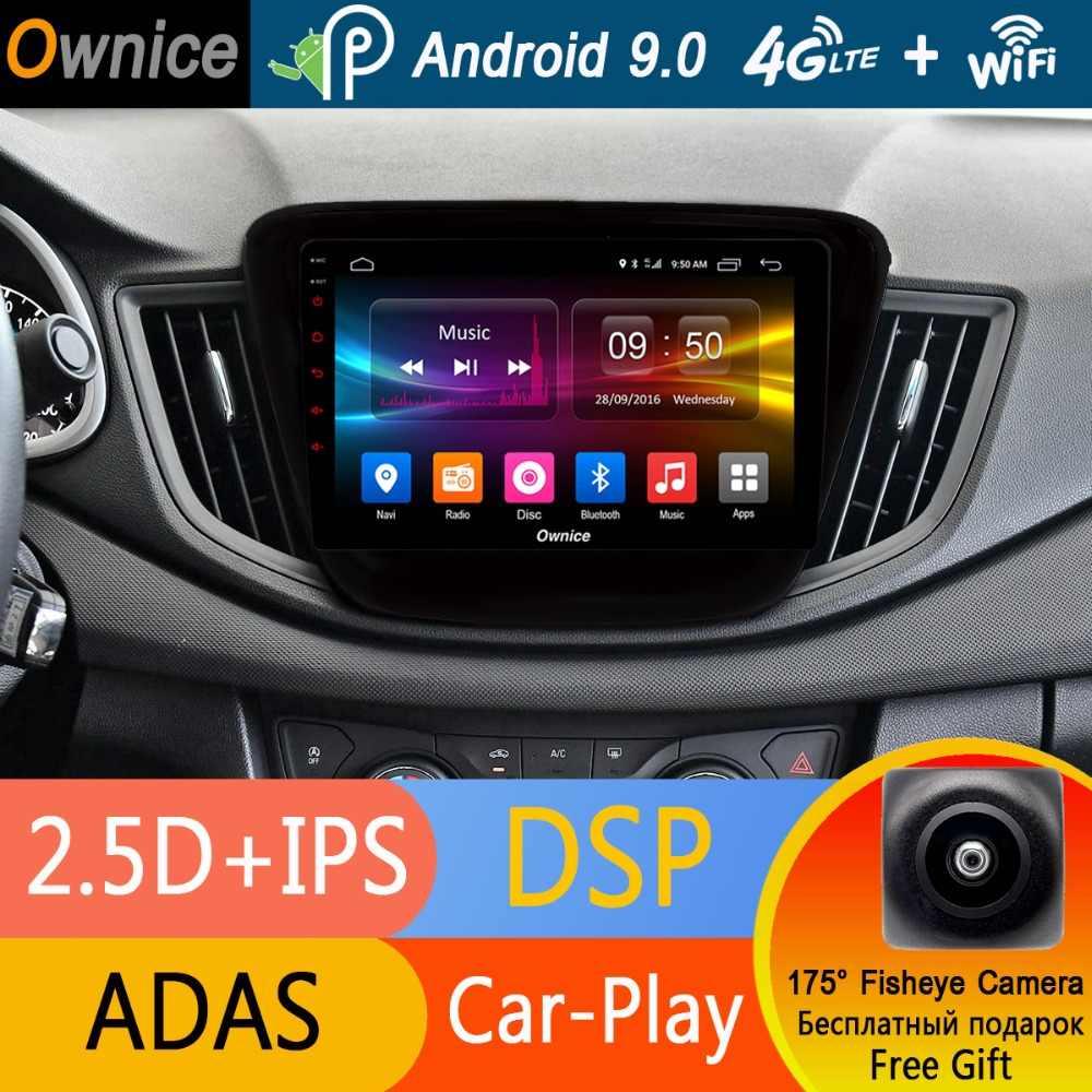 "9 ""ips Android 9,0 Octa 8 Core DVD плеер автомобиля для Chevrolet Cavalier 2016 2017 2018 4 г оперативная память + 32 Гб встроенная GPS Радио стерео DSP CarPlay"