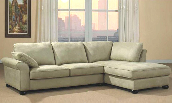 Free Shipping Sofas Modern Fabric Design Living Room L Shaped With Washable  Fabric Corner Sofa